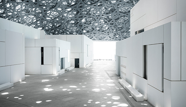 lighting Louvre in Abu-Dhabi, Zumtobel